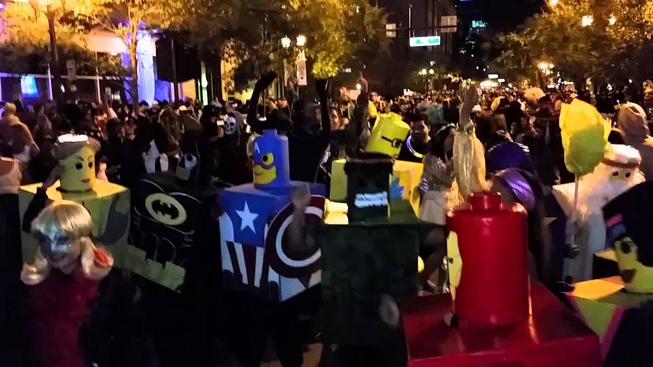 Halloween party on Church Street