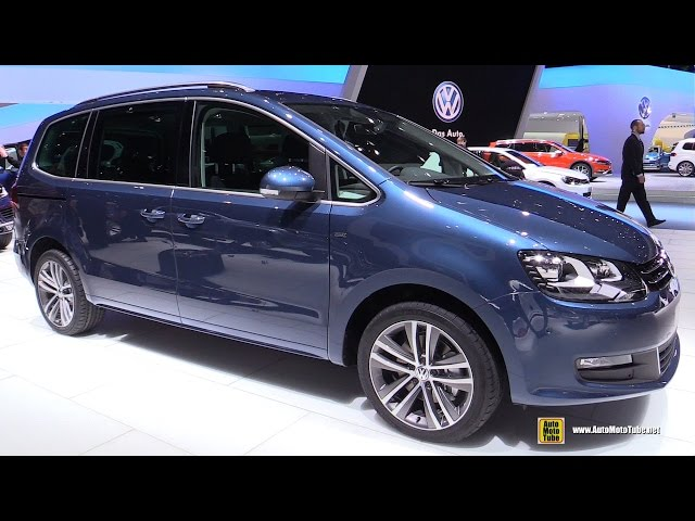 2016 Volkswagen Sharan TDI - Exterior and Interior ...