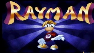 Rayman gameplay (PC Game, 1995)