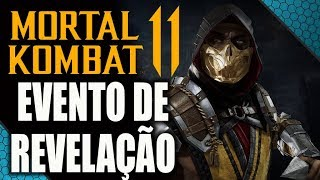 🔴 MORTAL KOMBAT 11 - GAMEPLAY, PERSONAGENS E TODAS AS REVELAÇÕES!