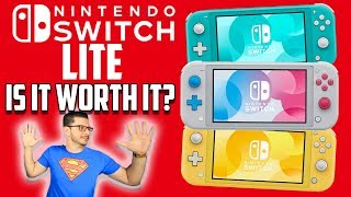 Nintendo Switch LITE REVEALED... IS IT WORTH IT?