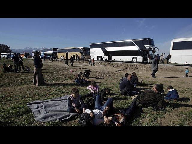 هزاران مهاجر در مرزهای شمالی یونان در انتظار فرصت عبور