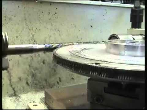 Hobbing a Worm Gear on a home lathe