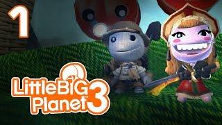 LittleBigPlanet 3 - Прохождение игры на русском - Кооператив [#1] PS4