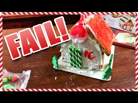 GINGERBREAD POKEMON CENTER ***FAIL!!***