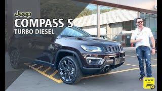 Jeep Compass S Diesel com Teste Park Assist
