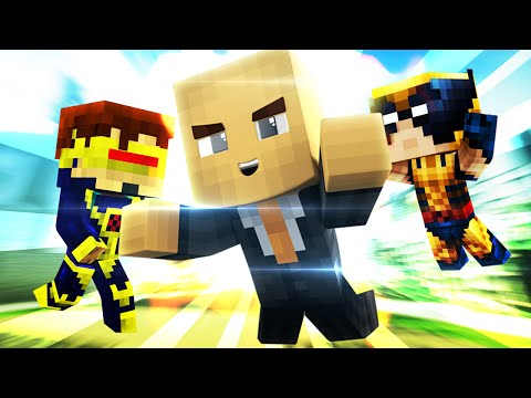 Minecraft - WHO'S YOUR DADDY? BABY MEETS X-MEN!