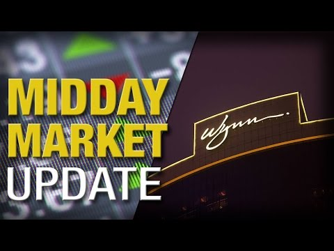 Midday Report: Stocks Climb, On Track For Third Straight Weekly Gain