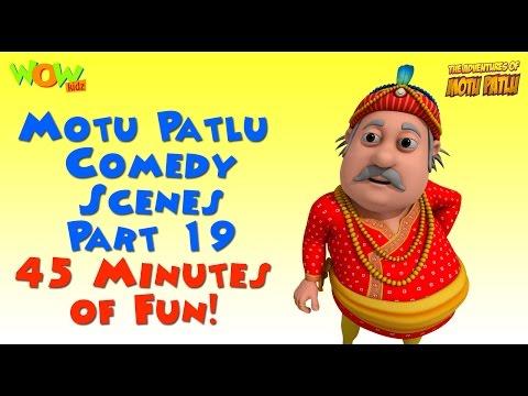 Motu Patlu Comedy Compilation - Part 19 - Motu Patlu Compilation As seen on Nickelodeon thumbnail