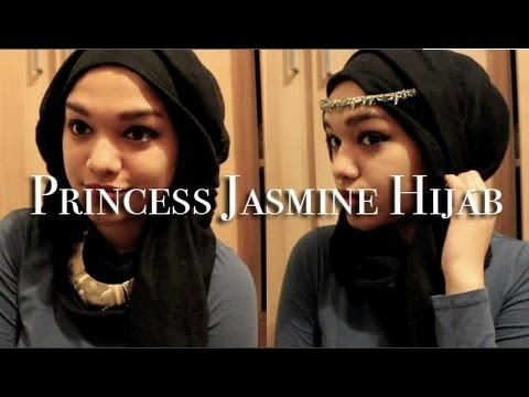 Princess Jasmine Inspired Hijab Tutorial video