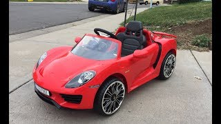 I bought a Porsche 918 (Costco Unboxing & Review)
