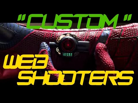 Custom Web Shooter Replicas (TASM) - Part 2   Idk Why