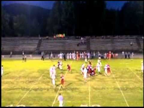 Ashton Baker, Football Highlights, Whitwell High School, TN