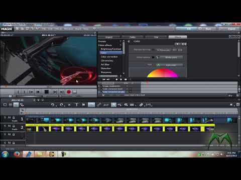 How To Do Picture In Picture With Magix Movie Edit Pro 2014