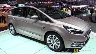 2016 Ford S Max Vignale - Exterior and Interior Walkaround - 2016 Geneva Motor Show