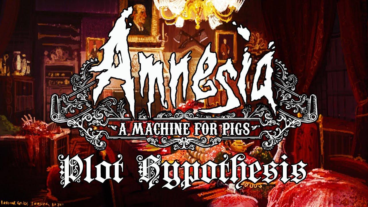 amnesia a machine for pigs plot
