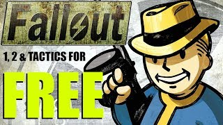 How to Get Fallout 1,2 & Tactics For FREE!