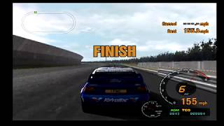 Gran Turismo 3 Playthrough Part 82.5! MAX SPEED TEST FORD ESCORT RALLY CAR!