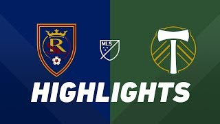 Real Salt Lake vs. Portland Timbers | HIGHLIGHTS - May 4, 2019
