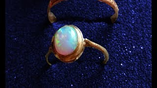 Beautiful GOLD ring and more with Excalibur 2 underwater metal detecting