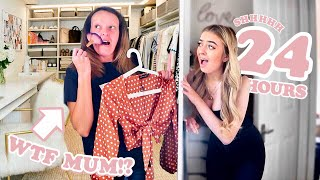I Spent the Night in my OWN HOUSE & my MUM had NO Idea...