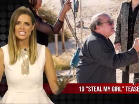1d Steal My Girl Tease Vu Clip Production video
