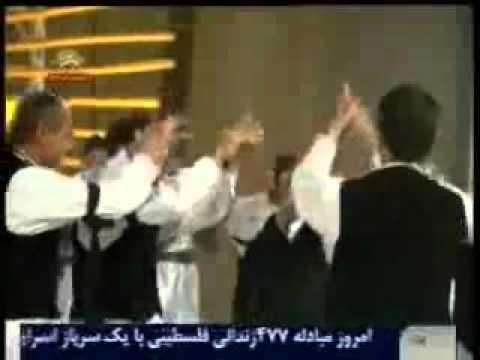 اجراي رقص قوچاني توسط رزمندگان اشرف