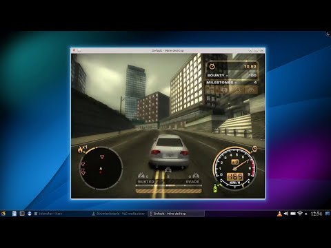 Need for Speed: Most Wanted on Linux ( With Wine 1.7.19+DirectX June 2010)