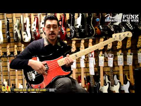 Squier - Pete Wentz Precision Bass Demo at GAK!