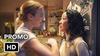 "Killing Eve (BBC America) ""Binge Entire First Season Now"" Promo HD - Sandra Oh, Jodie Comer series"