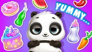 Food Feast for Panda Lu 🥦 Panda Lu Baby Bear Care | TutoTOONS Cartoons & Games for Kids
