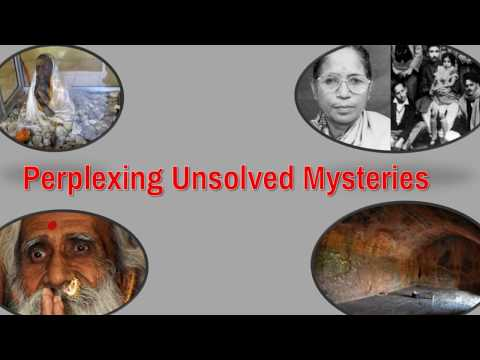 Indian Unsolved Mysteries
