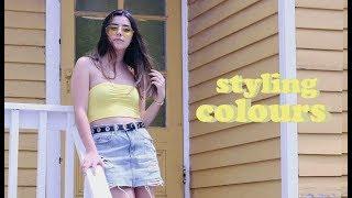 Styling Colors Lookbook   Mademoiselle Trudel