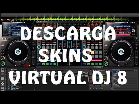 Mejores skins para VIRTUAL DJ PRO 7 y 8 (descargar e instalar)