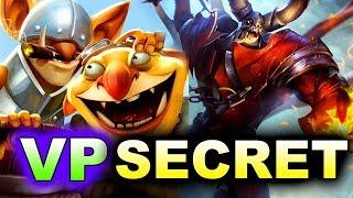 SECRET vs VP - TECHIES! - MEGAFON WINTER CLASH DOTA 2