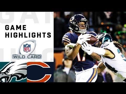Eagles vs Bears Wild Card Round Highlights  NFL 2018 Playoffs