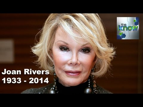 Joan Rivers Taken off Life Support, Dies at 81 - The Know