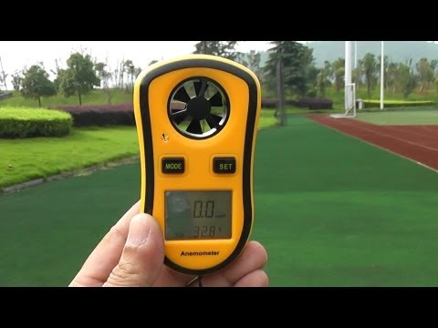 Wind Speed Meter a handy Gadget for RC Pilots