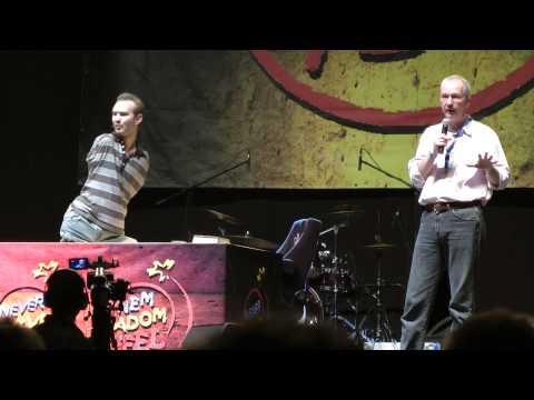 Nick Vujicic Debrecenben - 2013 video