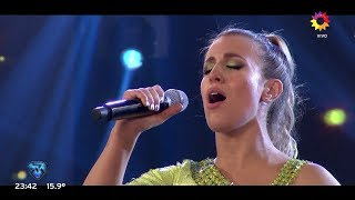 "Laura Esquivel canta ""My Heart will go on"" en Showmatch (7/09/17)"