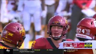 2018 - Oklahoma Sooners at Iowa State Cyclones in 40 Minutes