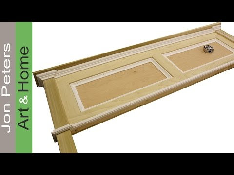 How To Build A Simple Headboard By Jon Peters Youtube