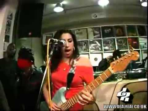 Amy Winehouse Stronger Than Me Rare Video YouTube