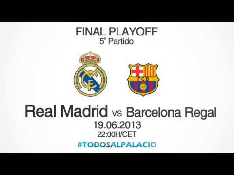 Liga Endesa Final (5th match): Real Madrid - Barcelona Regal