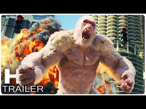RAMPAGE Trailer Español (2018)