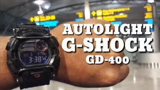 AUTOLIGHT G-SHOCK GD400