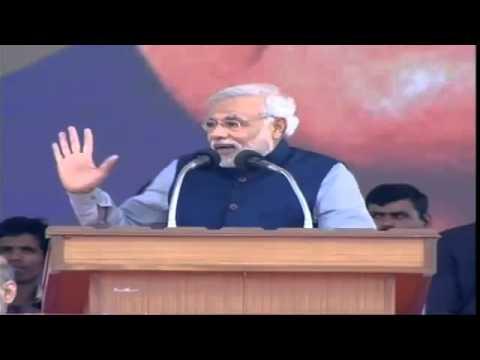 Shri Narendra Modi addresses Vijay Shankhnaad Maha Rally in Lucknow - Speech