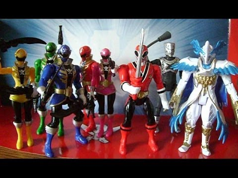 Power Rangers Super MegaForce - Action Hero Pack (5 inch figures) Review