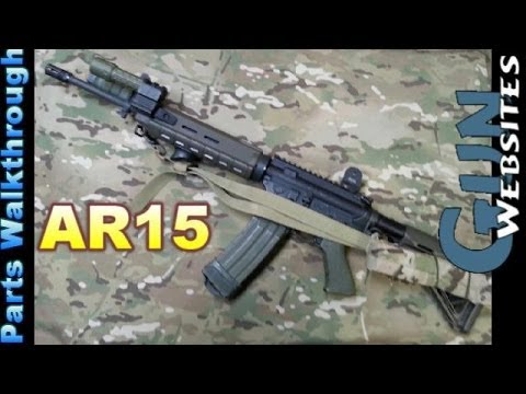 AR15 Parts Breakdown