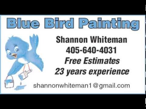Blue Bird Painting promo